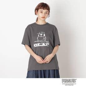 【S-L】ピーナッツBIG T (チャコールグレー)