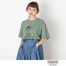【S-L】ピーナッツBIG T (ライトグリーン)