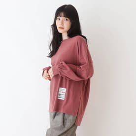 【久保乃々花さん着用商品】ルーズシルエットTシャツ (ダークオレンジ)