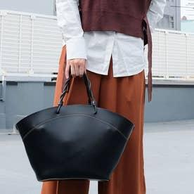 《2020年秋冬》巾着付き アーチトート(L) (Black)
