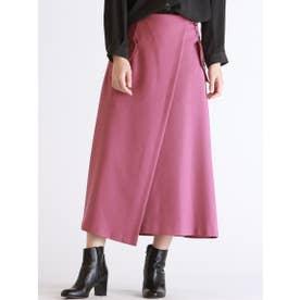 ベルトデザインポケットトレンチスカート【WEB別注】 (ピンク)