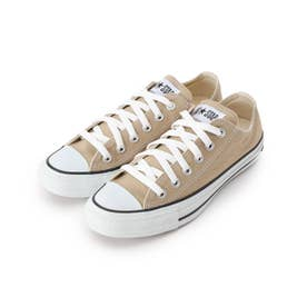 CONVERSE CANVAS ALL STAR COLORS OX スニーカー (ライトベージュ)