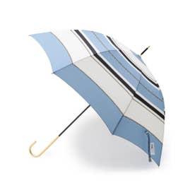 スカーフモチーフ長傘 (ライトブルー)