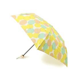 Wpc. 晴雨兼用トリプルサークル柄折り畳み傘 (イエロー)