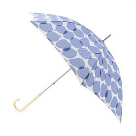 フルーツ柄長傘 (ライトブルー)