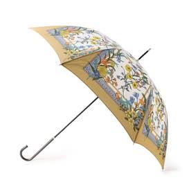 スカーフプリントアンブレラ(長傘) (ライトベージュ)