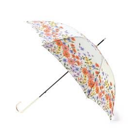 フラワーブルームアンブレラ(長傘) (オフホワイト)
