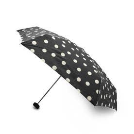 ドットミニ晴雨兼用折り畳み傘 (ブラック)
