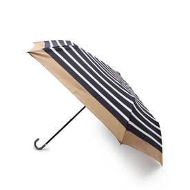 リムボーダー晴雨兼用折り畳み傘 (ネイビー)