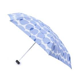 継続はっ水フルーツ折り畳み傘 (ライトブルー)