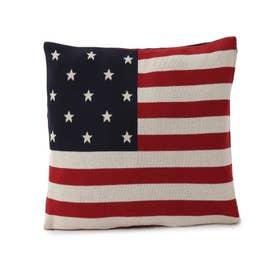 ナショナルフラッグ星条旗 クッションカバー (ネイビー)