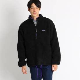 THOUSAND MILE 配色ボアジャケット (ブラック)