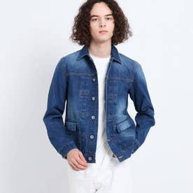 12OZデニムジャケット (ブルー)