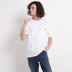 UNIVERSAL OVERALL ポケットTシャツ (ホワイト)