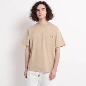 UNIVERSAL OVERALL ポケットTシャツ (ライトベージュ)