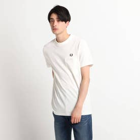FRED PERRY カノコ半袖プルオーバー (ホワイト)