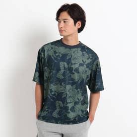 TWO PALMS Tシャツ (ネイビー)