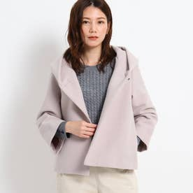 【S~Lサイズあり】ショートジャケット (ライトグレー)