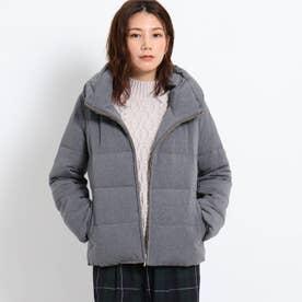 【XS~Lサイズあり】カチオンジャージダウンコート (チャコールグレー)