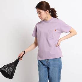 UNIVERSAL OVERALL ポケットTシャツ (ライトパープル)