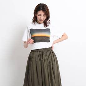 STAR&STRIPE フォトプリントTシャツ (ホワイト)