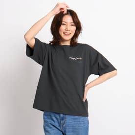 【S~L】オレンジカウンティTシャツ (チャコールグレー)