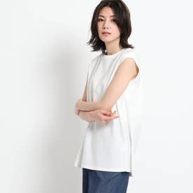 【XS~L・手洗い】コットンツイルプルオーバー (ホワイト)
