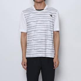 メンズ テニス 半袖Tシャツ グラフィックトップ DTP9536
