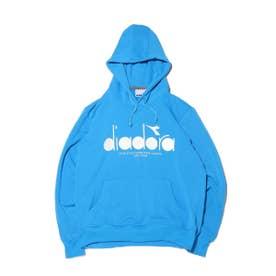 DIADORA スウェットフーディージャケット (BLUE)