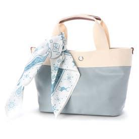 アナと雪の女王2刺繍巾着トートバッグ (ブルー)