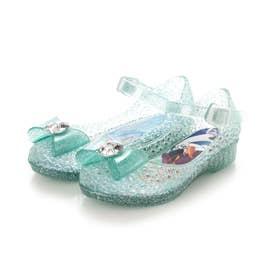 Disney7621 アナと雪の女王 光るガラスの靴 フラッシュサンダル (MINT)