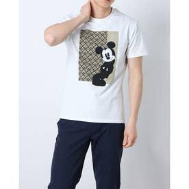 メンズ 半袖Tシャツ DN-9C12001TS (ホワイト)