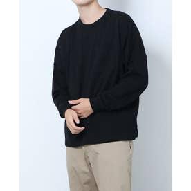 メンズ 長袖Tシャツ M長袖ヘビーウェイトBIGTシャツ DN-9C16031TL (ブラック)