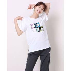 レディース 半袖Tシャツ DN-9C22011TS M (ホワイト)