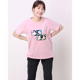 レディース 半袖Tシャツ DN-9C22011TS M (ピンク)