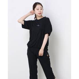 レディース 半袖機能Tシャツ DN-9A22011TS (ブラック)