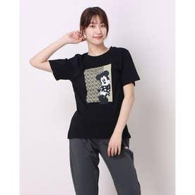 レディース 半袖Tシャツ DN-9C22011TS M (ブラック)