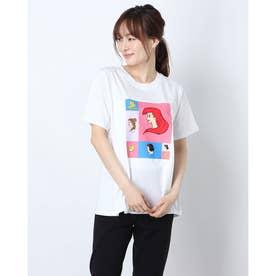 レディース 半袖Tシャツ DN-9C22001TS P (ホワイト)