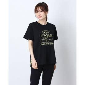 レディース 半袖Tシャツ DN-9C22001TS P (ブラック)