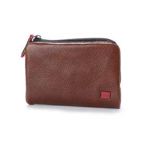 【MORITA & Co.】 スポルト 二つ折り財布 (ブラウン)
