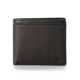 【MORITA & Co.】 リバーⅢ 二つ折り財布 (ブラック)