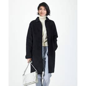 マジカルサーモ リバーシブル・ウールコート/ステン (ブラック)