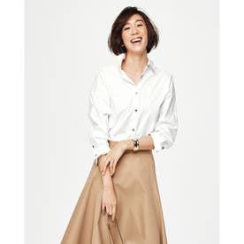 ビューティコットン・2WAYシャツ (ホワイト)