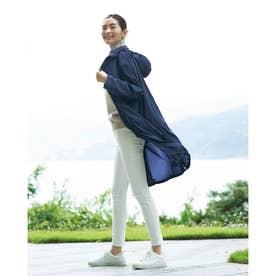 Doガード・抗ウイルス羽織りコート (ミッドナイトブルー)