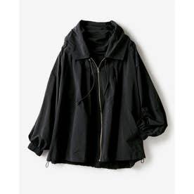 シルキータフタ・ライトジャケット (ブラック)