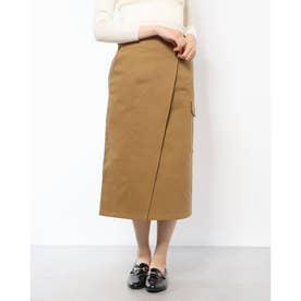 アジャストベルトカーゴタイトスカート (CAMEL)