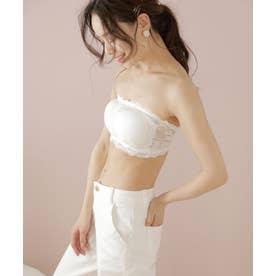レディースファッション通販 トップス チューブトップ ブラ 【返品不可商品】 (ホワイト系その他)