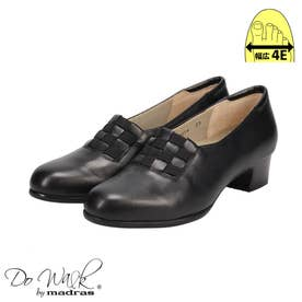 【幅広 4E】ゆったりなのにスマートに見える♪一日履いてもストレス無しの貴重な一足♪  DWL8214 (ブラック)