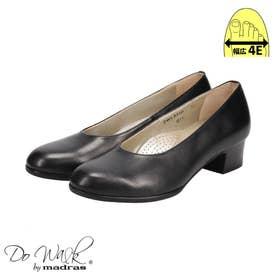 【幅広 4E】ゆったりなのにスマートに見える♪一日履いてもストレス無しの貴重な一足♪  DWL8210 (ブラック)