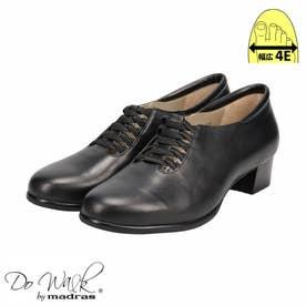 【幅広 4E】ゆったりなのにスマートに見える♪一日履いてもストレス無しの貴重な一足♪  DWL8264 (ブラック)